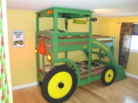 Build Your Kids A Tractor Bunk Bed  The Ownerbuilder Network