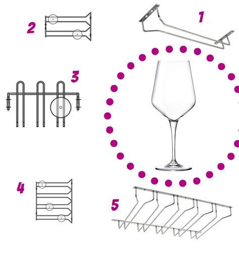 Appendi Bicchieri Bar by Vinitaly In Alto I Calici Con I Porta Bicchieri Di