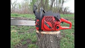 Jonsered 2165 Cutting Down A Tree I Love My Chainsaw