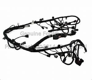 New Oem Main Engine Wiring Harness 2007 Ford F150 Lincoln Mark Lt  7l3z