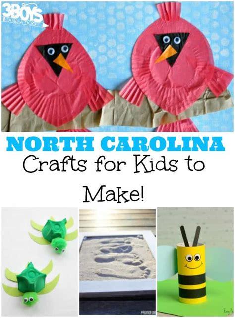 carolina crafts for 3 boys and a 3 boys 438 | North Carolina Crafts for Kids 758x1024