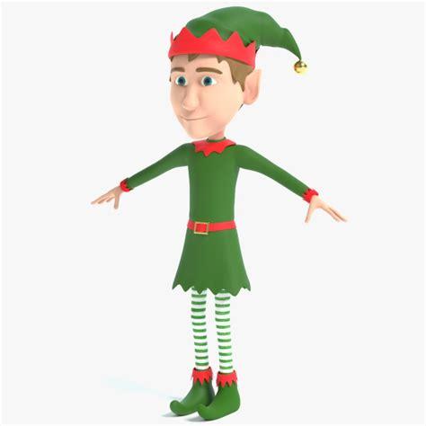 Christmas Elf 3d Model  Turbosquid 1216038