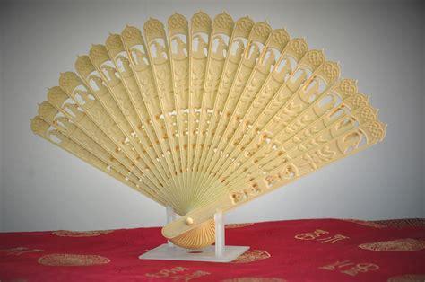 printed chinese oriental folding fan  model