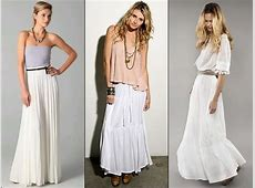 How to Wear and What to Wear with Long Skirts Q&A