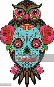 Girly Sugar Skull Design Sugar Skull Owl Clipart 20 Free Cliparts Download Images