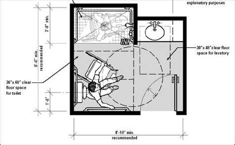 Handicap Bathroom Floor Plans  Shower Remodel