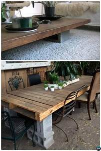 10 Unexpected Diy Concrete Block Furniture Projects