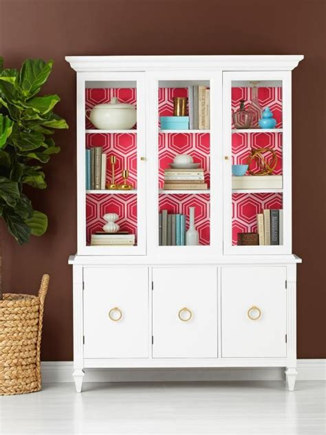 China Cabinet Used by Update A Used China Cabinet Hgtv Magazine Painted