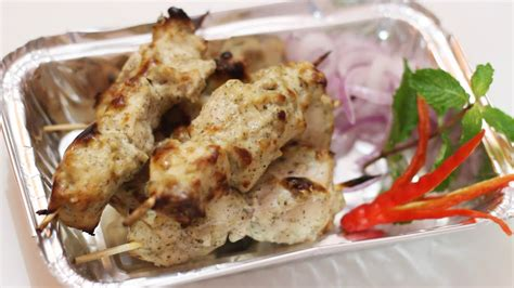 chicken malai kabab  murgh malai kabab recipe creamy