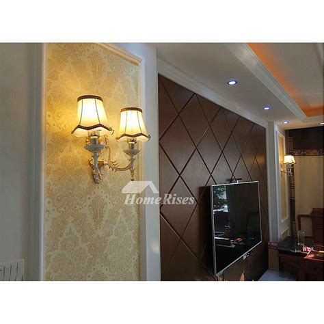 glass wall sconce lighting bathroom decorative modern