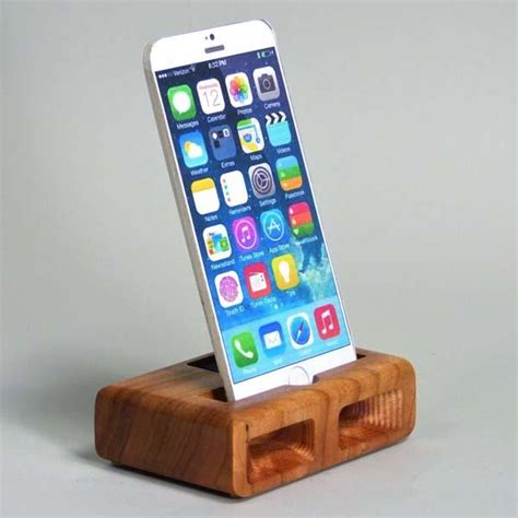 iphone 6 station the handmade iphone 6 charging station with audio