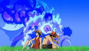 One Piece (anime) Ace Monkey D Luffy wallpaper   1900x1080 ...