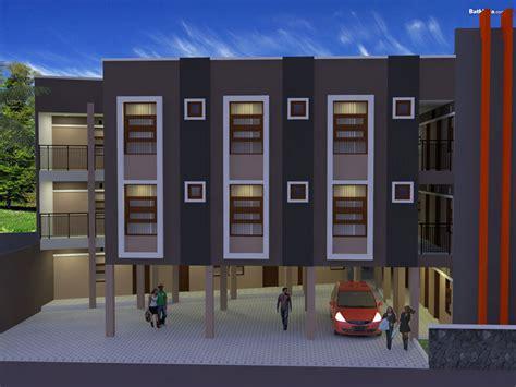 desain rumah kost buah batu bandung archie jasa desain rumah