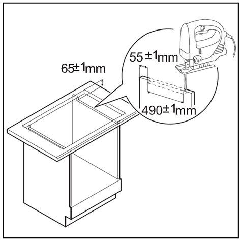 installazione piano cottura istruzioni per l installazione piano cottura a