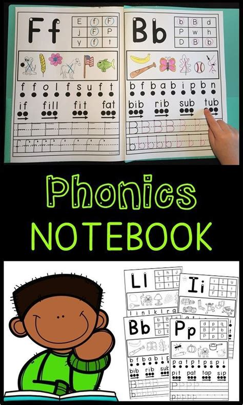 phonics notebook individual letter sounds  images