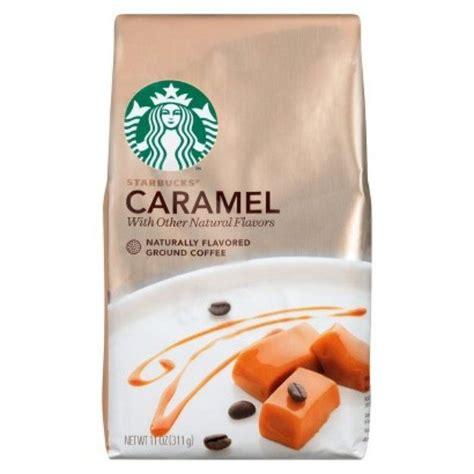 Add some tasty fun to your cup before brewing: Starbucks Coffee Starbucks Caramel 11oz Ground | Starbucks ...