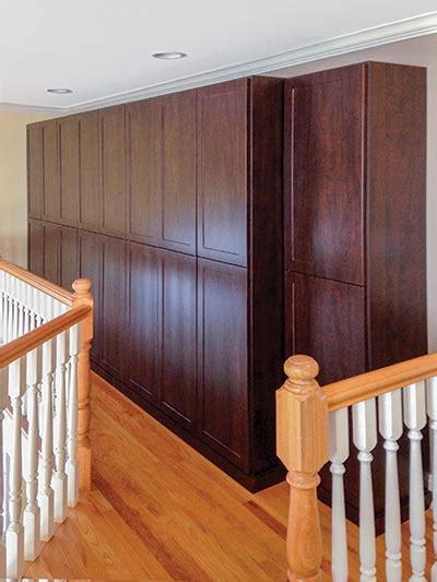 Enclosed Closet Systems by Custom Wardrobe Cabinets Create New Closet