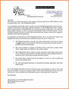 5 company introduction letter sample company letterhead With sample of introduction letter of event management company