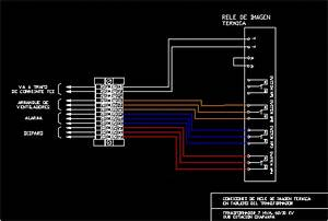 Relay Installation Thermal Imaging DWG Block for AutoCAD