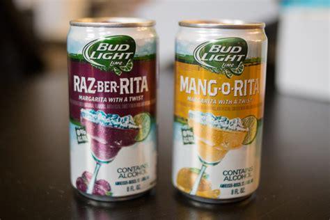bud light rita new flavors bud light launches new raz ber rita and mang o rita flavors