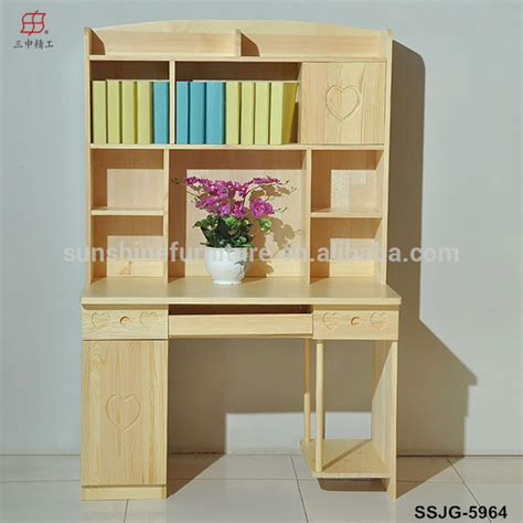 kids desk with bookcase wooden modern bookcase bookshelf bookcase with study