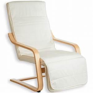 Fauteuil Repose Pied : fauteuil avec repose pied inclinable kessi biege ~ Teatrodelosmanantiales.com Idées de Décoration