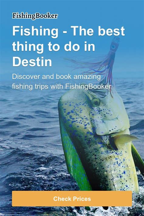 fishing destin charters florida fishingbooker fl