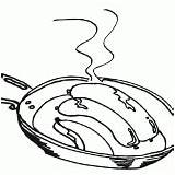 Sausage Coloring Pages Sausage1 sketch template