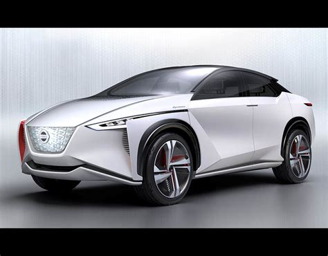 Suv Electric Car by Nissan Imx Concept Electric Car New Suv Revealed At