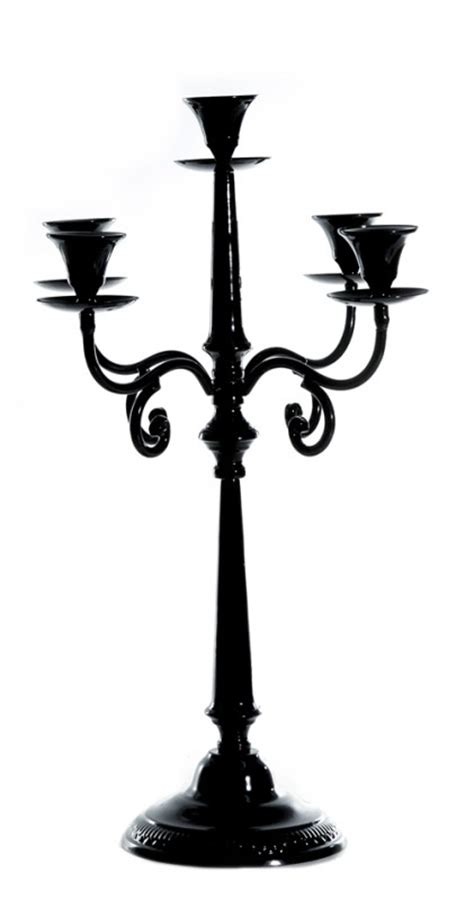 kerzenständer metall schwarz kerzenst 228 nder 5 armig schwarz bestseller shop mit top marken