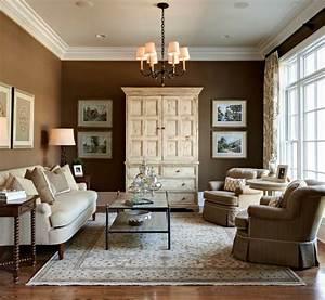 Wohnzimmer Mit Brauner Couch : wohnzimmer braun 60 m glichkeiten wie sie ein braunes wohnzimmer gestalten ~ Markanthonyermac.com Haus und Dekorationen