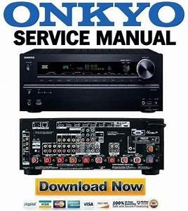 Onkyo Tx-nr717 Service Manual And Repair Guide