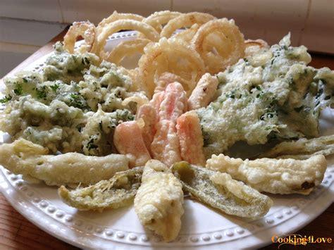 tempura batter vegetable tempura with dipping sauce cooking for love