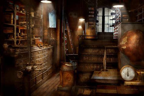steampunk tool room   mad man photograph  mike savad