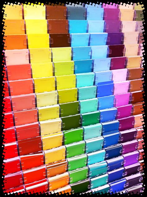 home depot paint swatches