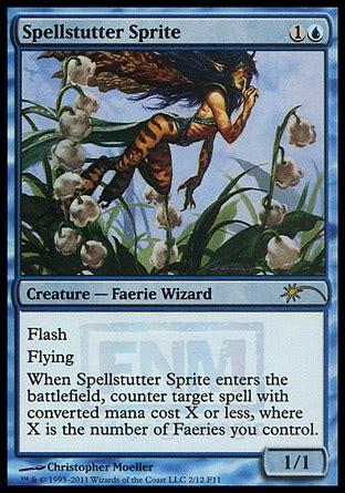 faerie deck magic the gathering spellstutter sprite friday magic