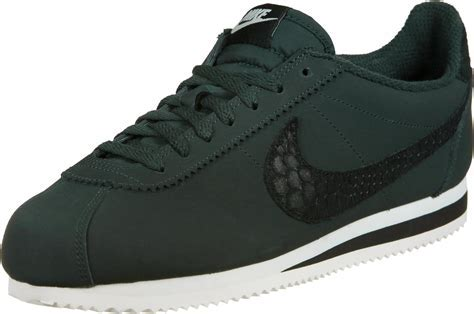 Nike Cortez Leather SE shoes green black