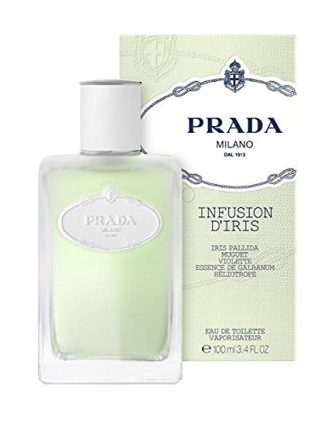 prada infusion d iris eau de toilette spray by prada 3 4 ounce prada beautil