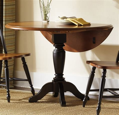 Best Round Drop Leaf Kitchen Table  All About House Design
