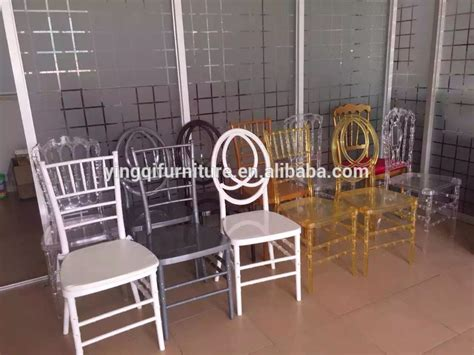 wedding rental clear plastic chiavari chair for