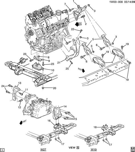 2003 chevy impala engine diagram automotive parts
