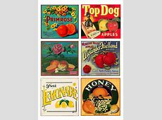 Free illustration Labels, Vintage, Fruit, Products Free