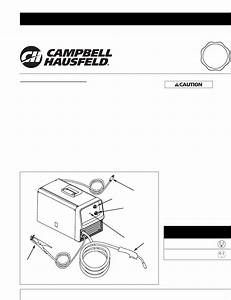 Campbell Hausfeld Welder Wg3090 User Guide