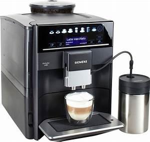 Kaffeevollautomat Mit Wasseranschluss : siemens kaffeevollautomat eq 6 plus s400 te654509de 1 7l ~ Michelbontemps.com Haus und Dekorationen