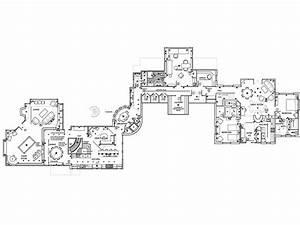 Telluride Colorado Ski Villa Architectural Drawing
