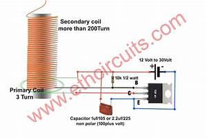 High Voltage Mosquito Killer Circuit Diagram