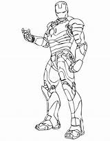 Iron Coloring Pages Popular sketch template