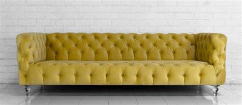 mustard yellow velvet sofa boca sofa in volt yellow velvet i roomservicestore