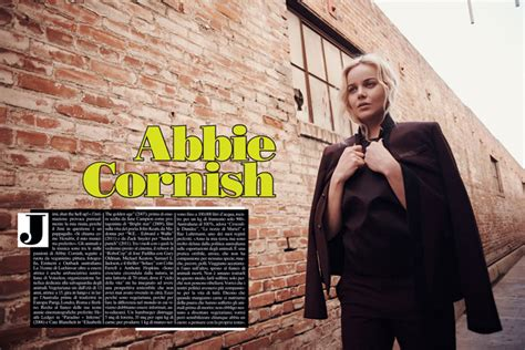 abbie cornish vogue abbie cornish by eric guillemain for l uomo vogue
