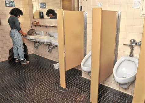 Gender Neutral Bathrooms On College Cuses by Protestors Demand Gender Neutral Bathrooms At Umass By